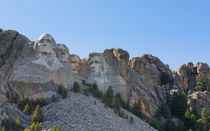 A Different View Of Mount Rushmore by John Bailey