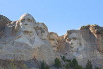 The Majesty Of Mount Rushmore by John Bailey