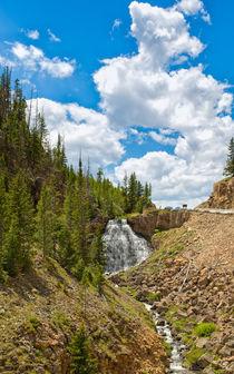 Rustic Falls Yellowstone von John Bailey