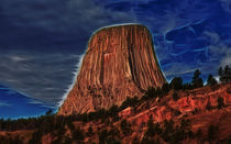 Devils Tower Is Off Limits by John Bailey