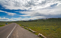 Marvelous Drive Through Yellowstone by John Bailey