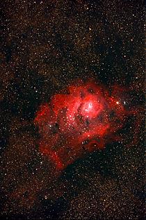 Lagunennebel - M 8 - Lagoon Nebula  von monarch