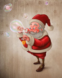 'Santa Claus and the bubbles soap' by Giordano Aita