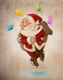 'Santa Claus on ice' by Giordano Aita