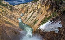 The Grand Canyon Of Yellowstone by John Bailey