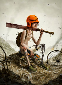 Post Apocalyptic Kid | 2015 edition by deisign