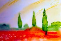 Cypresses von Maria-Anna  Ziehr