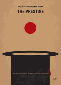 No381 My The Prestige minimal movie poster by chungkong