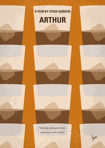 No383 My Arthur minimal movie poster von chungkong