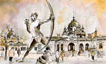 The Archer From Budapest by Miki de Goodaboom
