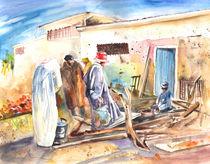 Moroccan Market 02 von Miki de Goodaboom