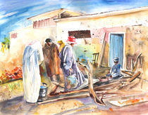 Moroccan Market 02 by Miki de Goodaboom
