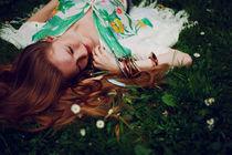 Daisies II by Malgorzata Topolska
