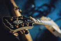 Electric guitar by Malgorzata Topolska