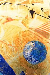 blauer planet von Edmond Marinkovic