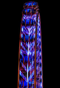 London Eye Abstract by David Pyatt