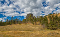 Up To Devils Tower by John Bailey