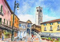 Bergamo Upper Town 03 von Miki de Goodaboom