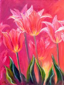 Tulips, oil painting von valenty
