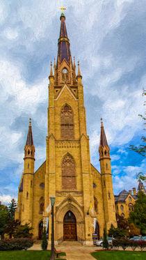 The Basilica Of The Sacred Heart by John Bailey