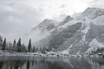 Maroon Bells Snowfall by Steven Ross