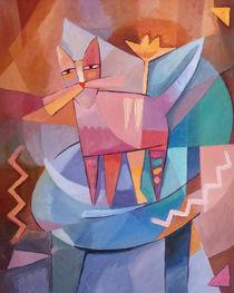 Tango Cat by Lutz Baar