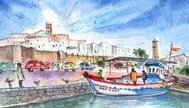 Peniscola Harbour 03 von Miki de Goodaboom