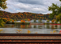 Industrial Ohio River by John Bailey