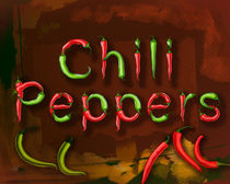 Chili Pepprs by Bedros Awak