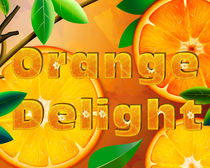 Orange Delight by Bedros Awak
