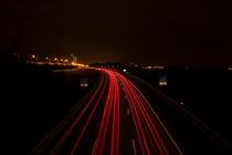 Car light trails by Kenny Jeurissen