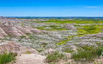 Amazing Landscape At Badlands by John Bailey