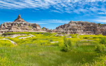 Beauty And The Badlands by John Bailey