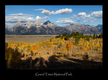 Grand Teton Poster by Kathleen Bishop