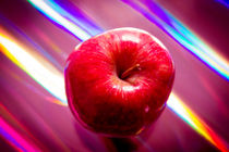 Red apple by Gema Ibarra