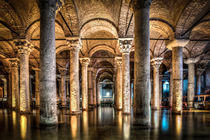 Sunken Palace or Basilica Cistern (Istanbul, Turkey) by Marc Garrido Clotet