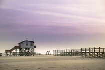 Strand von Sankt Peter-Ording by Annette Sturm