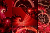 rote Spiralwelt von claudiag