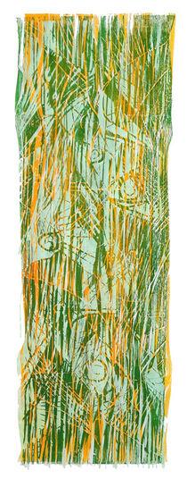 Holzschnitt - Flora II by Antje Püpke