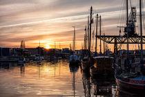 Stadthafen in Rostock von Rico Ködder