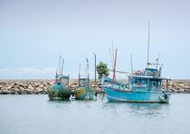 Fishing boats by Christina Rahm