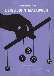 No009 My Being John Malkovich minimal movie poster von chungkong