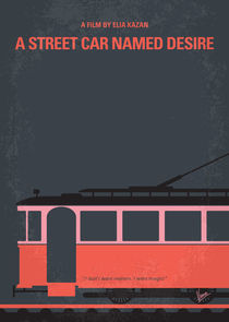 No397 My street car named desire minimal movie poster von chungkong