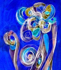 colorful floral illustration 2 von claudiag