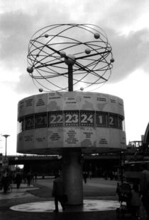 Alexanderplatz World Clock by Glen Mackenzie