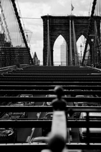 new york city ... brooklyn bridge IV by meleah