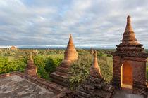 Stupa, Bagan, Myanmar by kytefoto