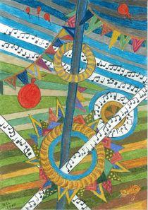Dorffest zum Erntedank  von Heike Nedo