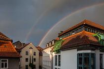 Doppelter Regenbogen by Erhard Hess