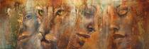 Faces I von Annette Schmucker